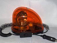 Мигалка-капля на магните 12 -24В желтая.