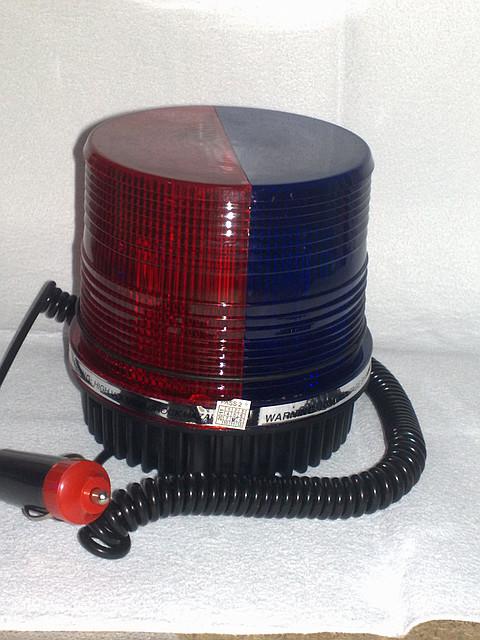 Мигалка-стробоскоп 2х цветная (сине/красная) 12В.