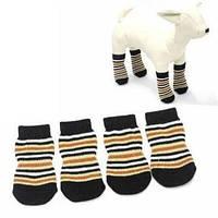 Носки для  маленьких собак  L /до 6 - 8кг, в ассортименте