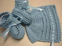 Вязанная набор для для новорожденного