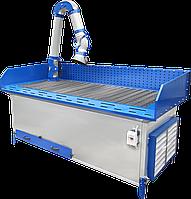 Вытяжной стол для сварочно-зачистных работ по металлу MST 2500 GW