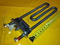 Тэн на стиральную машинку 1600 Вт. / 177 мм. с датчиком температуры производство Италия Thermowatt