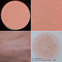 Румяна El Corazon №02 теплый розово-персиковый, фото 1