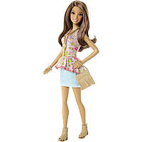Кукла Барби Модная штучка (Barbie Fashionistas Doll Flowers & Fringe) Mattel, фото 1
