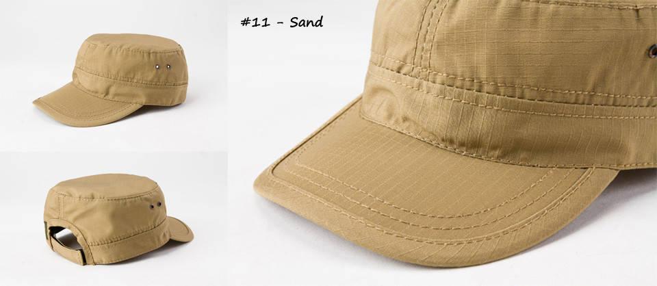 Кепка летняя однотонная песочного цвета  (Sand), фото 2