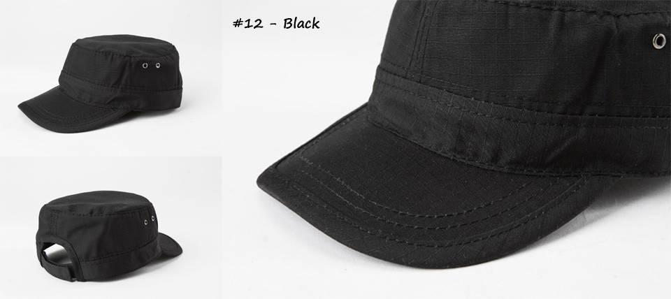 Кепка однотонная чёрная (Black) , фото 2