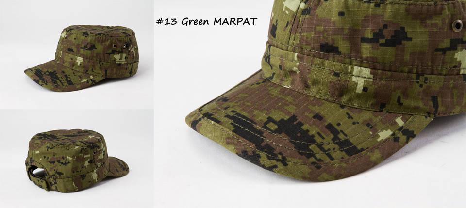 Кепка камуфляжная MARPAT Green (МАРПАТ Зеленый), фото 2