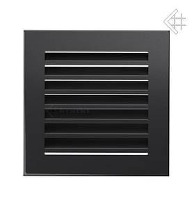 Вентиляционная решетка для камина KRATKI Fresh 17х17 см графитовая