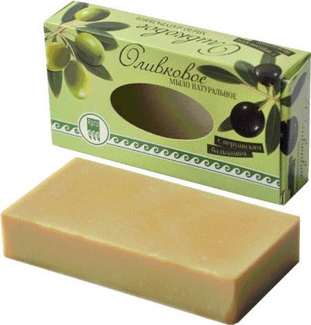 Мыло оливковое с перуанским бальзамом, фото 2
