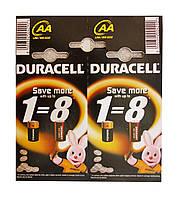 Батарейки Duracell алкалиновые AA LR 6 MN 1500 - 1 штука