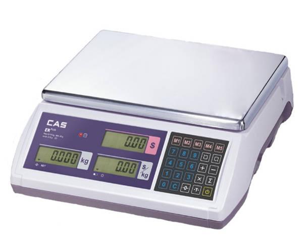 Весы торговые CAS ER Plus E-30, фото 2