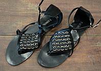 Стильные черные женские босоножки на лето Yamina, фото 1