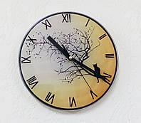 Печать на часах D=195мм