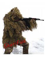 Маскхалат  маскировочный костюм для снайпера  Ghille Parka Desert MIL-TEC 11962160