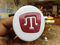 """Значок """"Червона тамга"""" (56 мм), значки символіка, значок Украина купить, тризуб тамга, фото 1"""