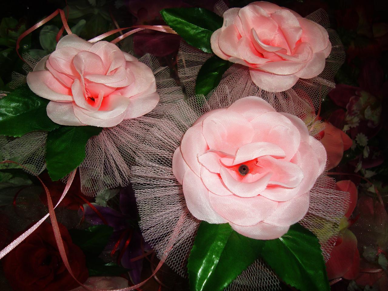 Украшение свадебных машин Роза на ручку - Магазин свадебных аксессуаров Svadba Love в Днепре
