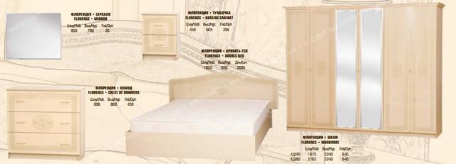 Спальня Флоренцiя Світ Меблів