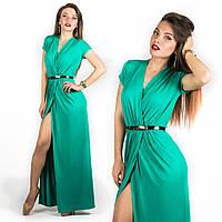 Бирюзовое платье 15536