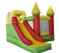 Надувной батут KIDIGO Magic Castle