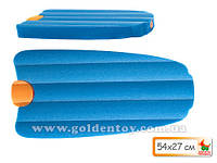 Доска для плавания, +водян. пистолет, синий/оранжев