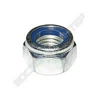 Гайка М6 DIN 985 самоконтрящаяся с нейлоновым кольцом