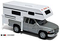 Машинка 1:46 Kinsmart джип 5.5 KT5503W DODGE RAM (TRUCK CAMPER) , металл