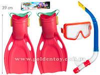Пляжный набор - ласты, маска, трубка