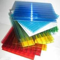Сотовый поликарбонат 6 мм Polygal цветной