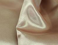 Ткань Атлас цвет : какао - молоко