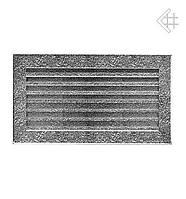Вентиляционная решетка KRATKI  FRESH 17Х30 СМ черно-серебренная