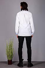 Чоловіча вишита сорочка з оригінальним візерунком, фото 3