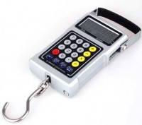 Весы электронные подвесные 7 в 1 до 50 кг, точность 10 г (кантер)