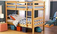 Кровать из массива дерева 030