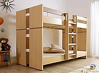 Кровать из массива дерева 031