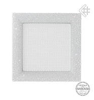 Вентиляционная решетка KRATKI VENUS 17Х17 СМ Swarovski белая