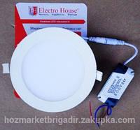 Светодиодный  светильник  12W 4100К ELEKTRO HOUCE