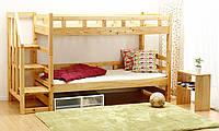 Кровать из массива дерева 032