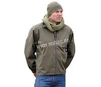 Милтек куртка ветрозащитная нейлон олива все разм.