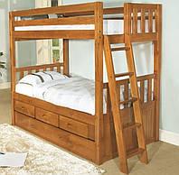 Кровать из массива дерева 033