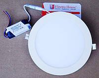 Светодиодный  светильник  18W 4100К ELEKTRO HOUCE