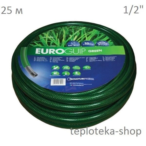 "Шланг 1/2"" TecnoTubi Euro GUIP Green 25м."