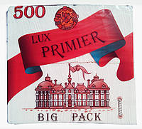 Салфетка бумажная Primier 500л белый