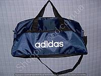 Багажная сумка Adidas 114000 большая (55 см х 27 см х 25 см) синяя спортивная дорожная из полиэстера
