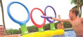 Надувной набор - игра с кольцами на воде, от 6 лет