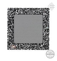 Вентиляционная решетка KRATKI VENUS 17Х17 СМ Swarovski черно-серебренная