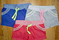 Подростковые трикотажные короткие шорты с карманами для девочек 134-164р. В остатке 152р., фото 1