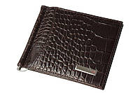Зажим для денег Karya 0455-57 темно-коричневый, фото 1