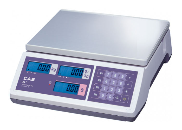 Весы торговые CAS ER JR CB-LT-30