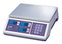 Весы торговые CAS ER JR CB-6(RS-232)