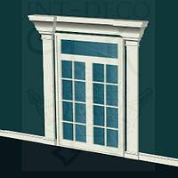 Вариант обрамления дверей INT-DECO